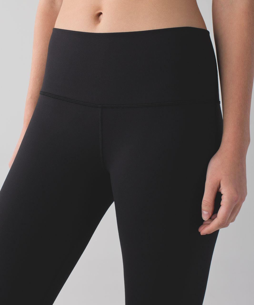 Lululemon Groove Pant II (Roll Down - Regular) *Full-On Luon - Black