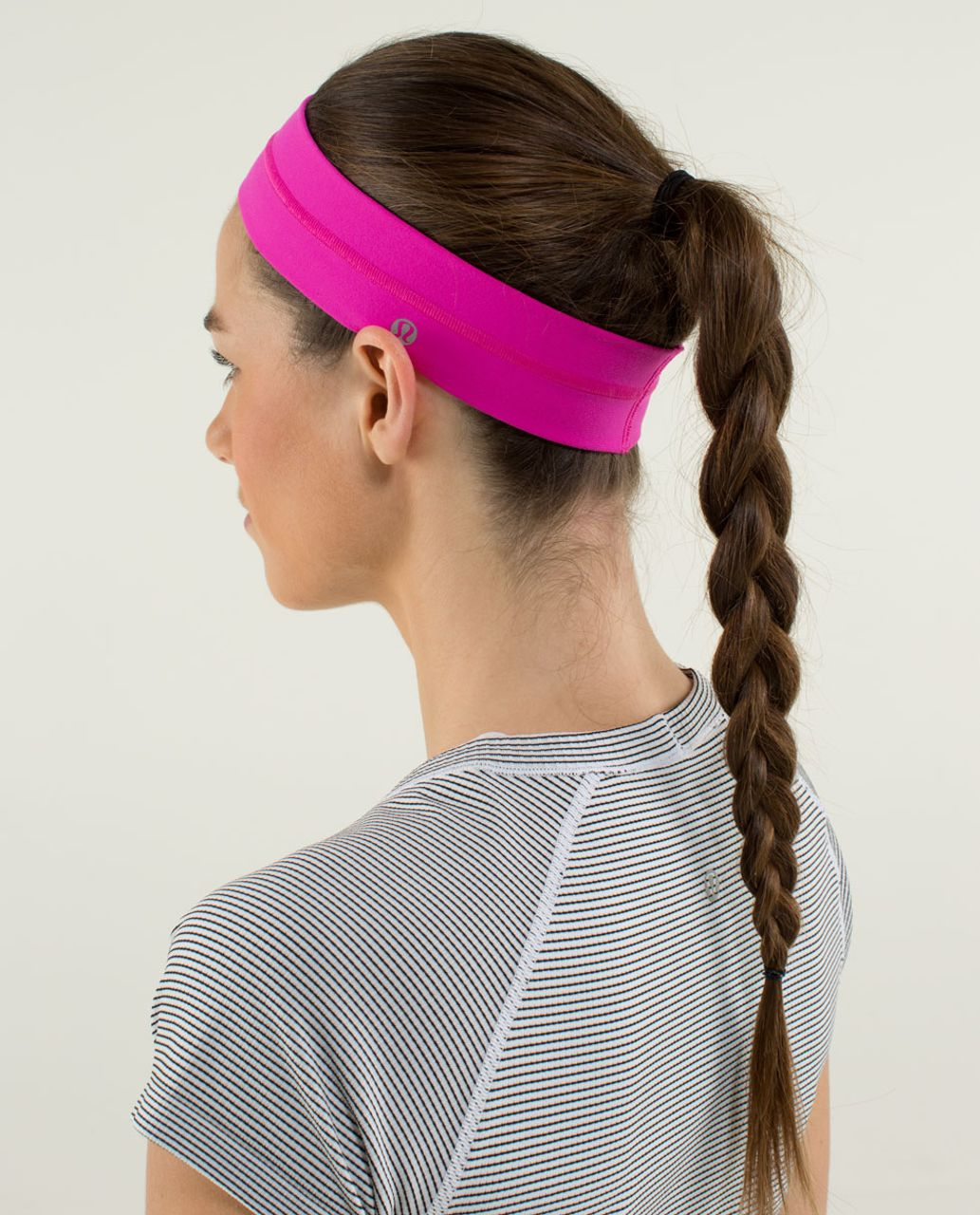 Lululemon Fly Away Tamer Headband - Paris Perfection