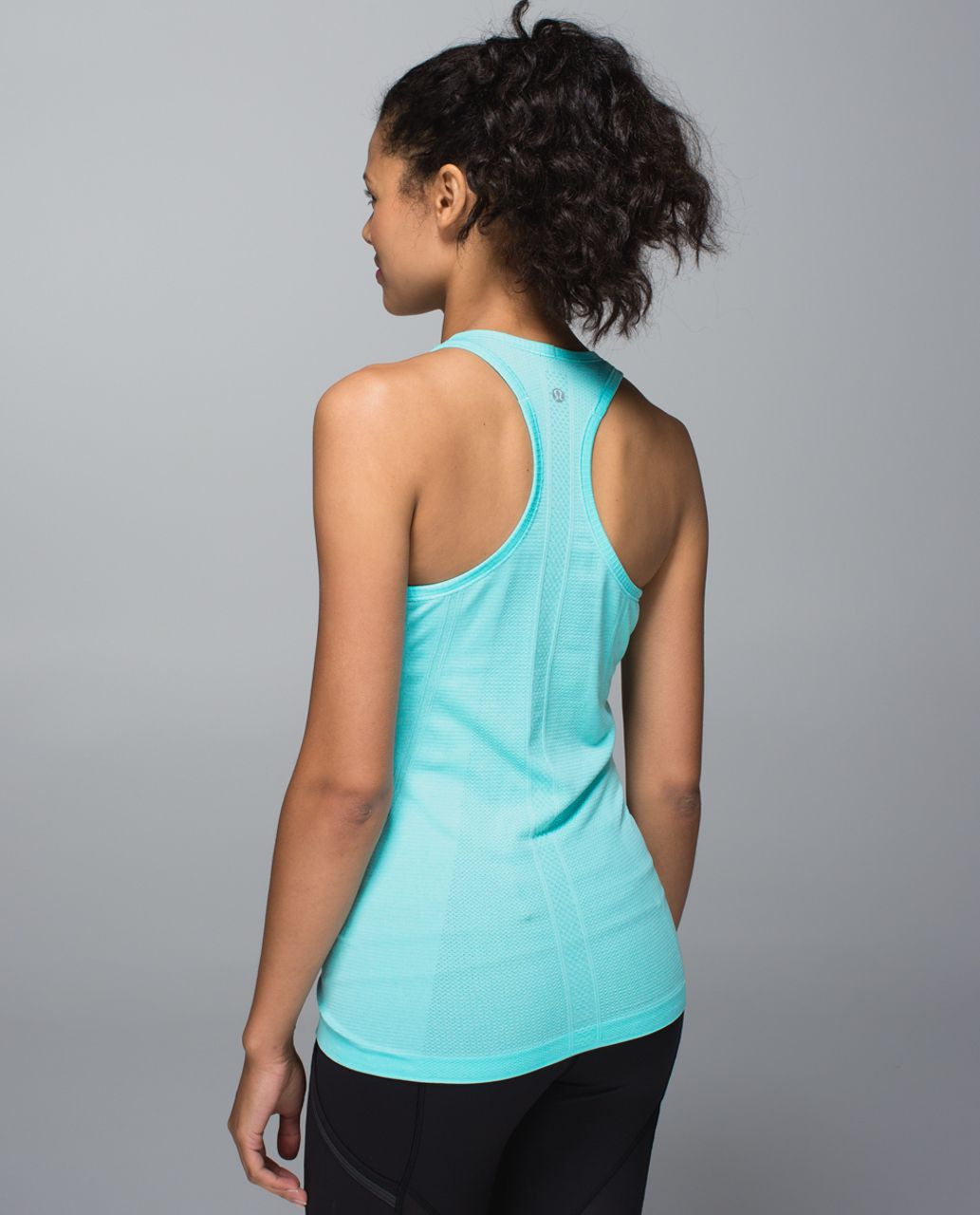 Lululemon Run:  Swiftly Tech Racerback - Heathered Angel Blue (First Release)