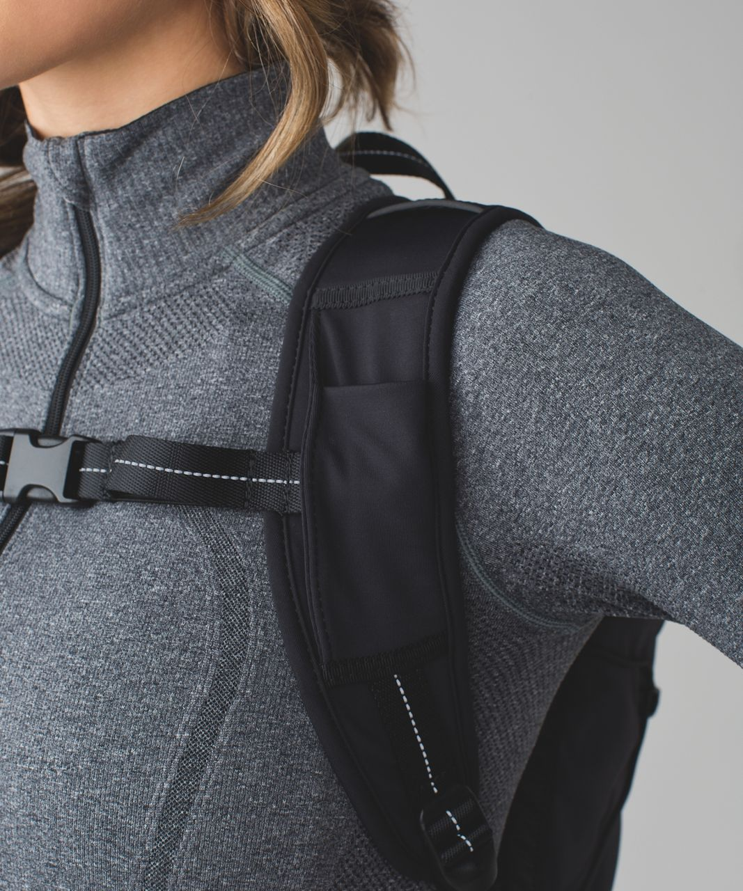 Lululemon Run All Day Pack *Fibre Optic - Black