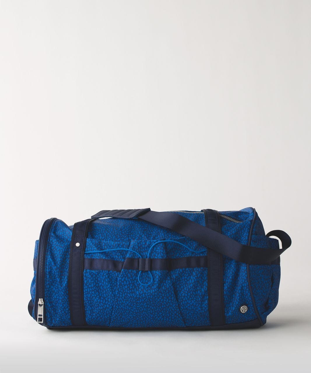 Lululemon Run Ways Duffel - Miss Mosaic Lakeside Blue Hero Blue / Hero Blue