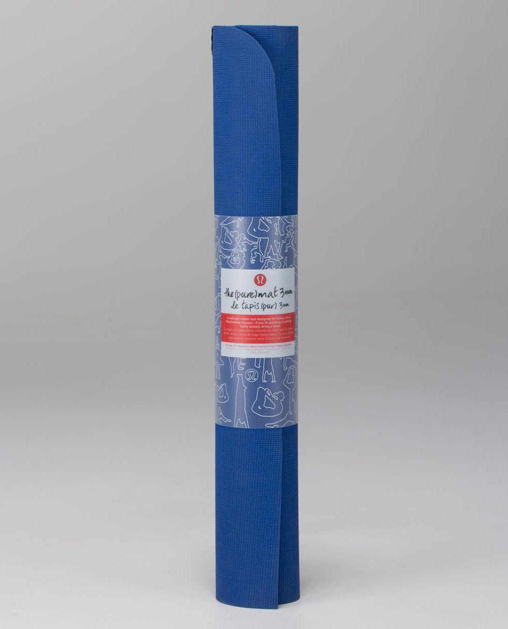 Lululemon The Pure Mat 3mm - Rugged Blue