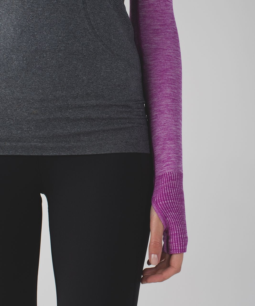 Lululemon Swiftly Arm Warmers - Heathered Ultra Violet
