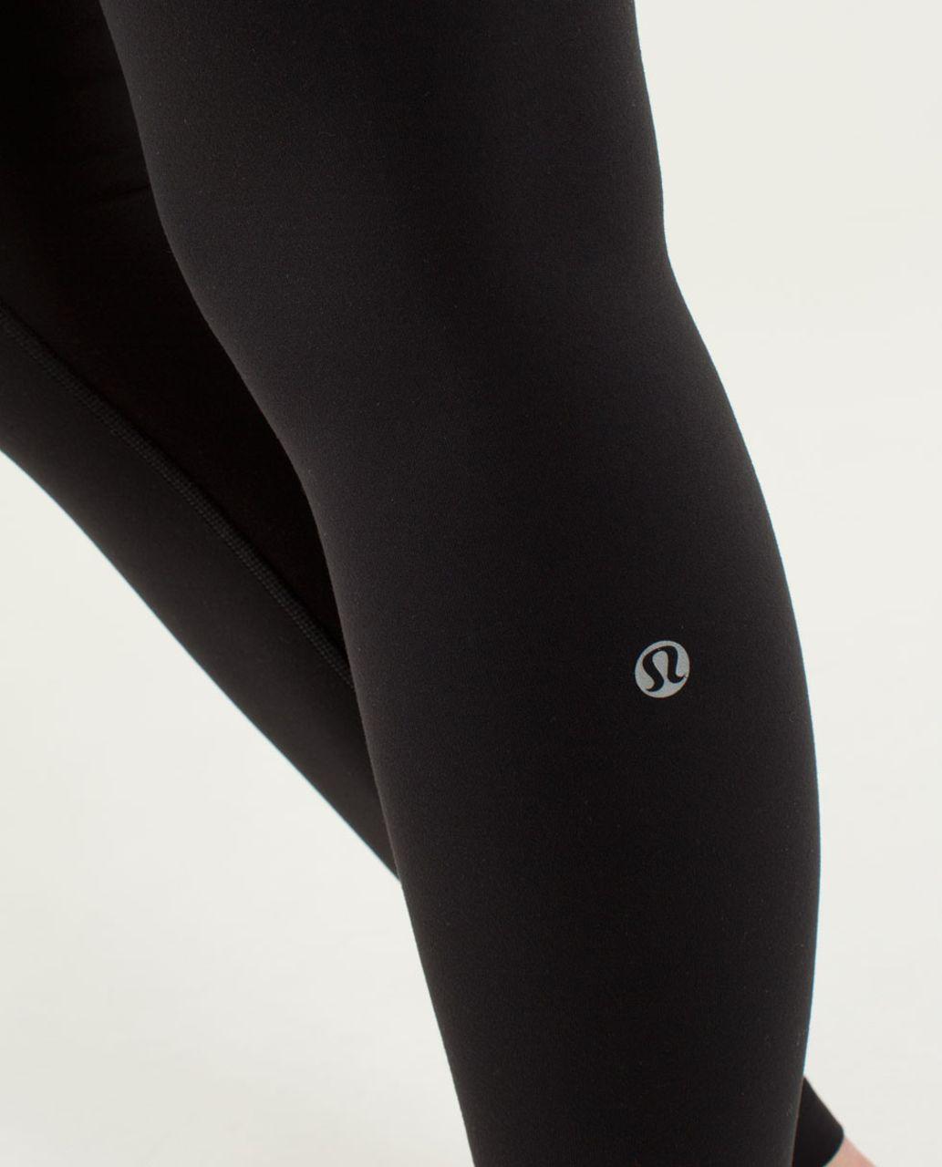 Lululemon Wunder Under Pant *Full-On Luon - Black / Quilt Winter 13-11