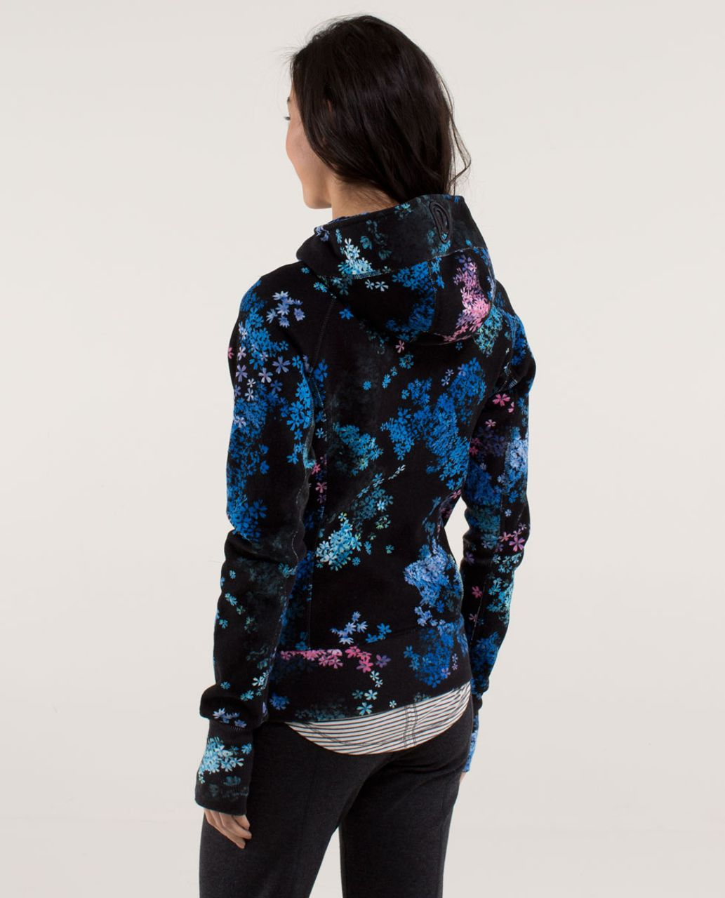 Lululemon Scuba Hoodie *Stretch (Lined Hood) - Petal Pop Multi / Fresh Teal / Petal Pop Multi