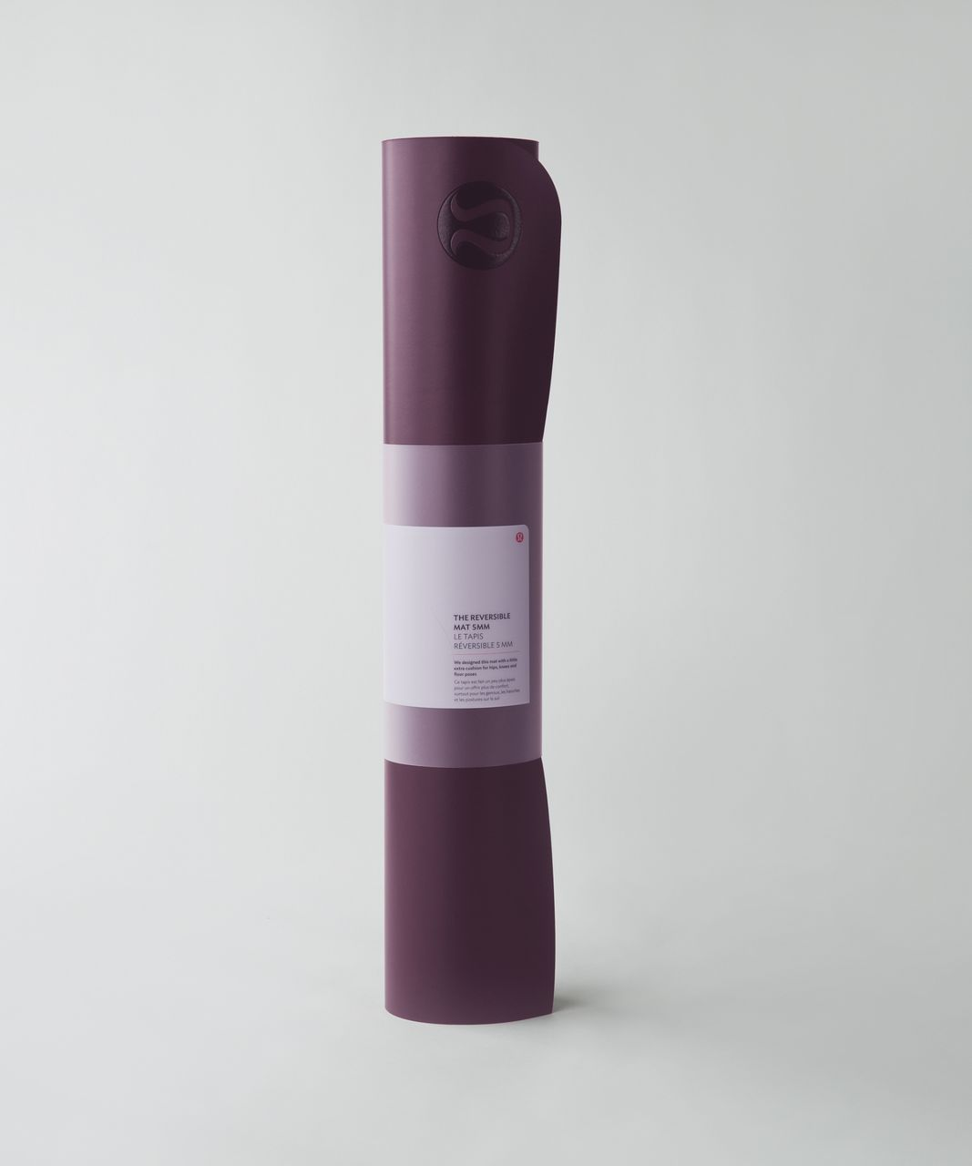 Lululemon The Reversible Mat 5mm - Bordeaux Drama / Boom Juice