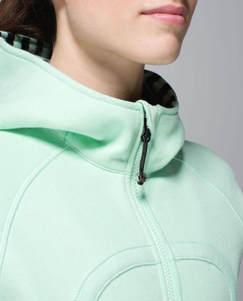 Lululemon Scuba Hoodie *Stretch (Lined Hood) - Fresh Teal / Very Green / Mini Hyper Stripe Fresh Teal / Apex Stripe