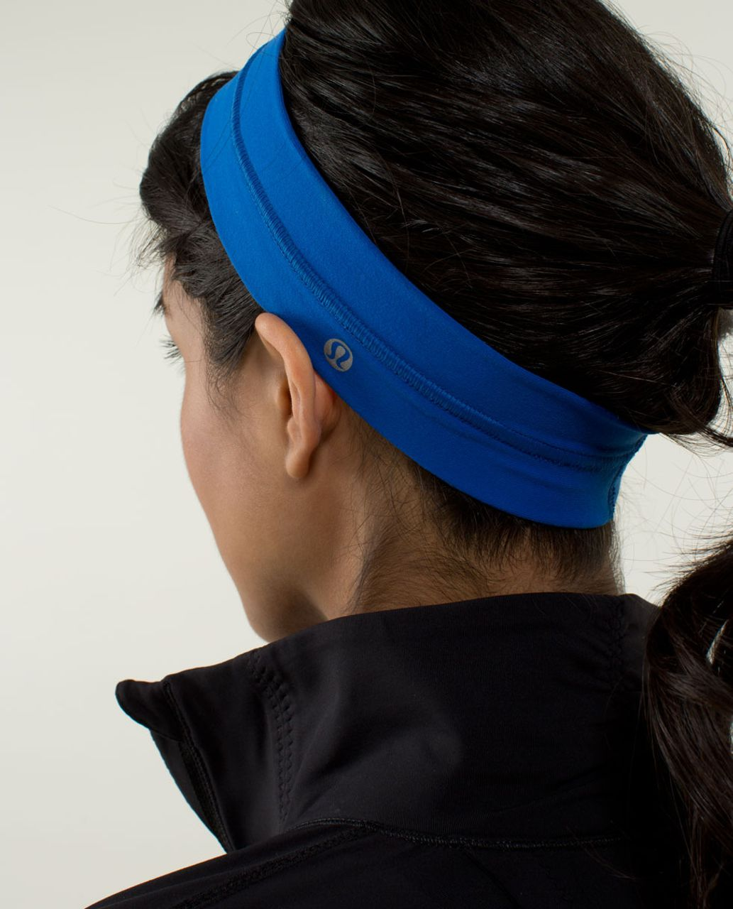 Lululemon Fly Away Tamer Headband - Baroque Blue