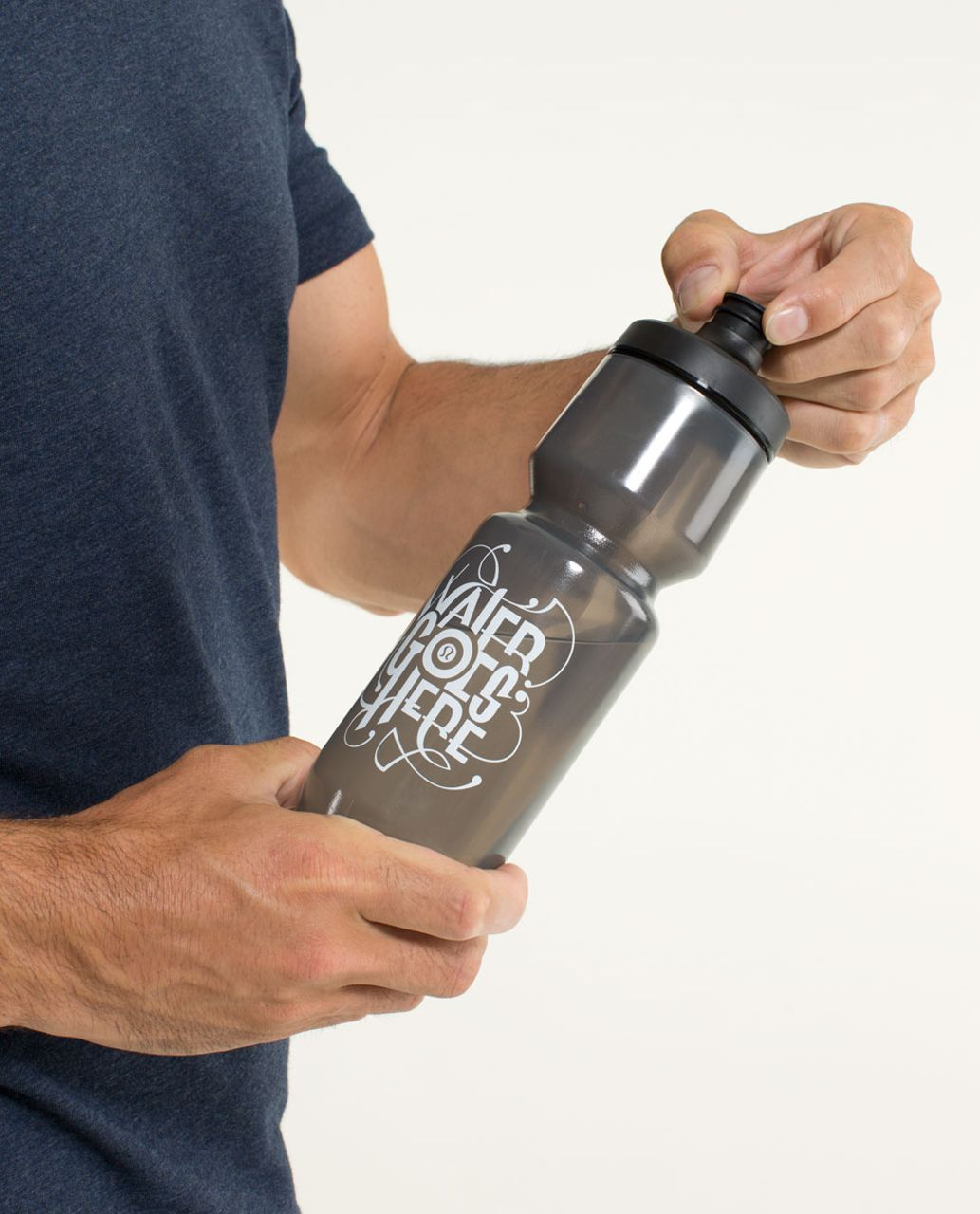 Lululemon Purist Cycling Water Bottle II - Water Goes Here