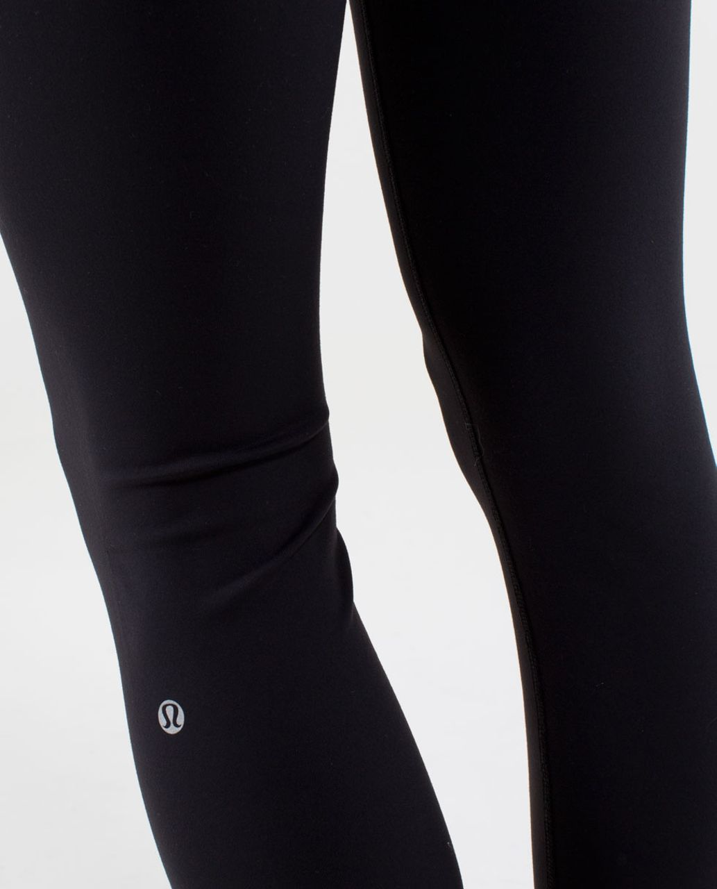 Lululemon Wunder Under Pant *Full-On Luon - Black / Quilt Winter 13-10