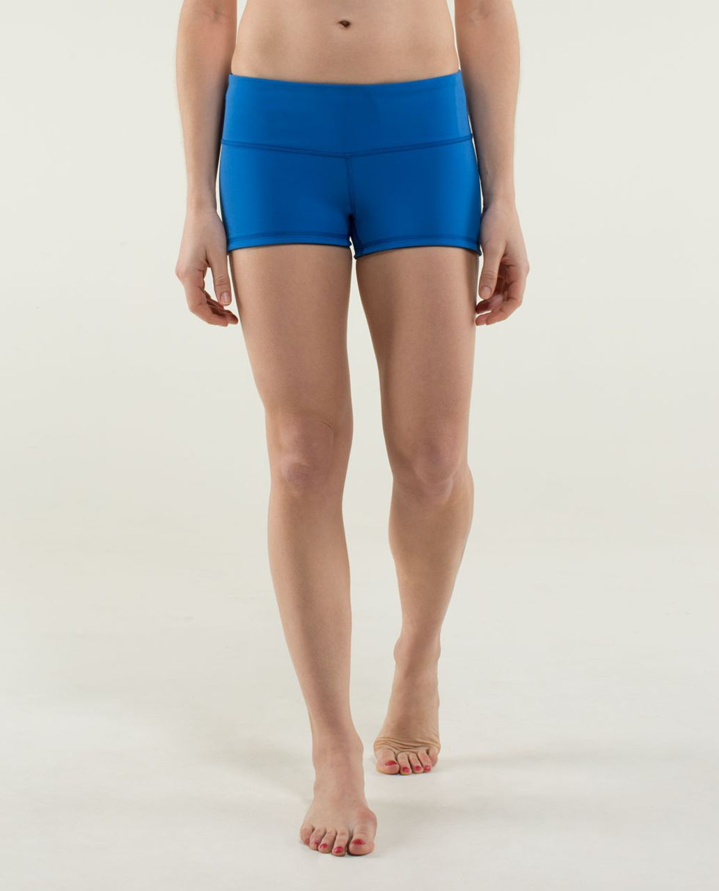 Lululemon Boogie Short - Black / Baroque Blue