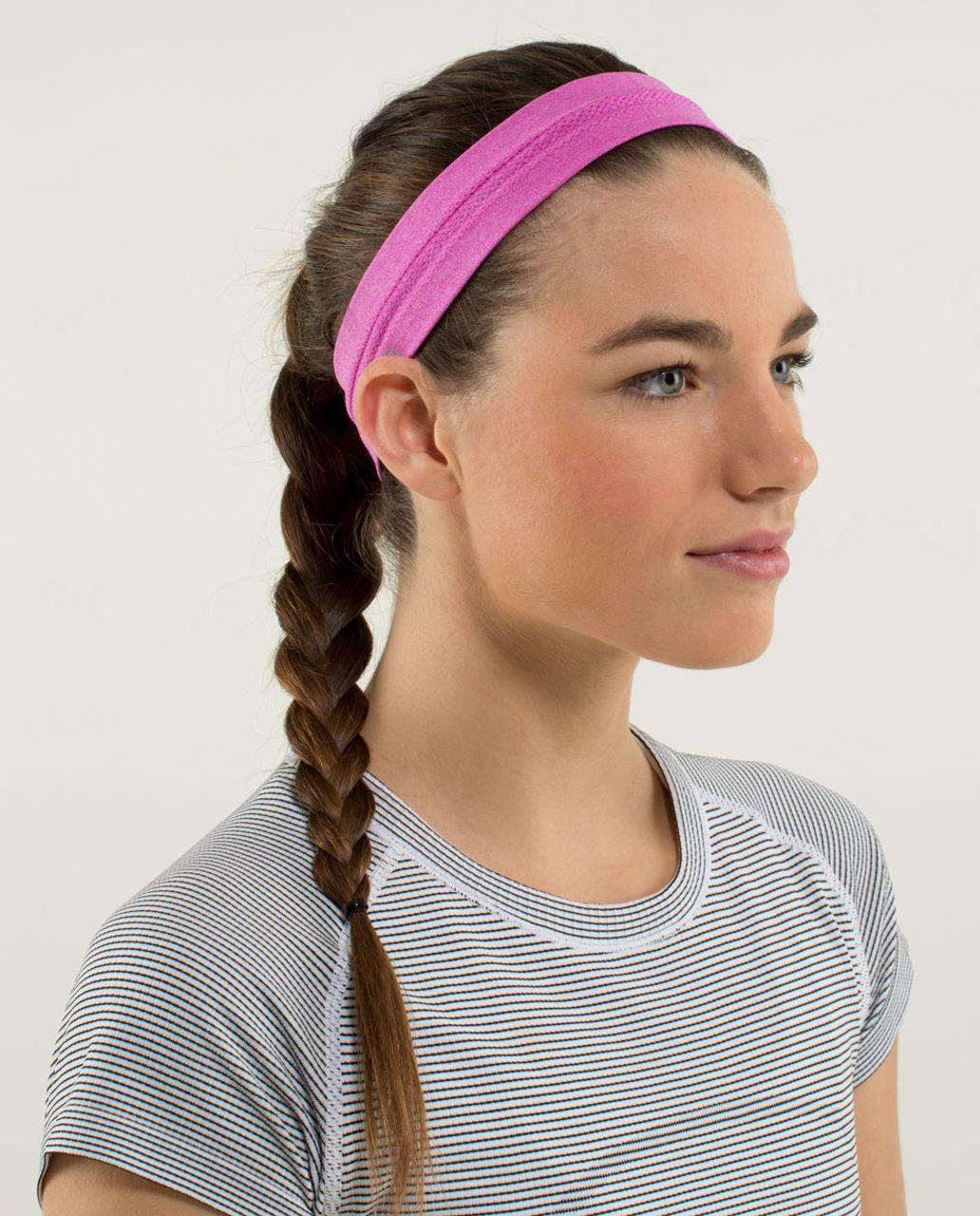 Lululemon Swiftly Headband - Heathered Paris Perfection
