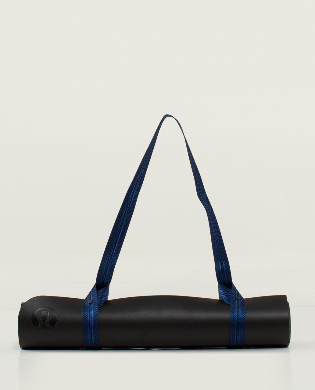 fanatics item lulu yoga mat strap caspian lululemon brainer blue no
