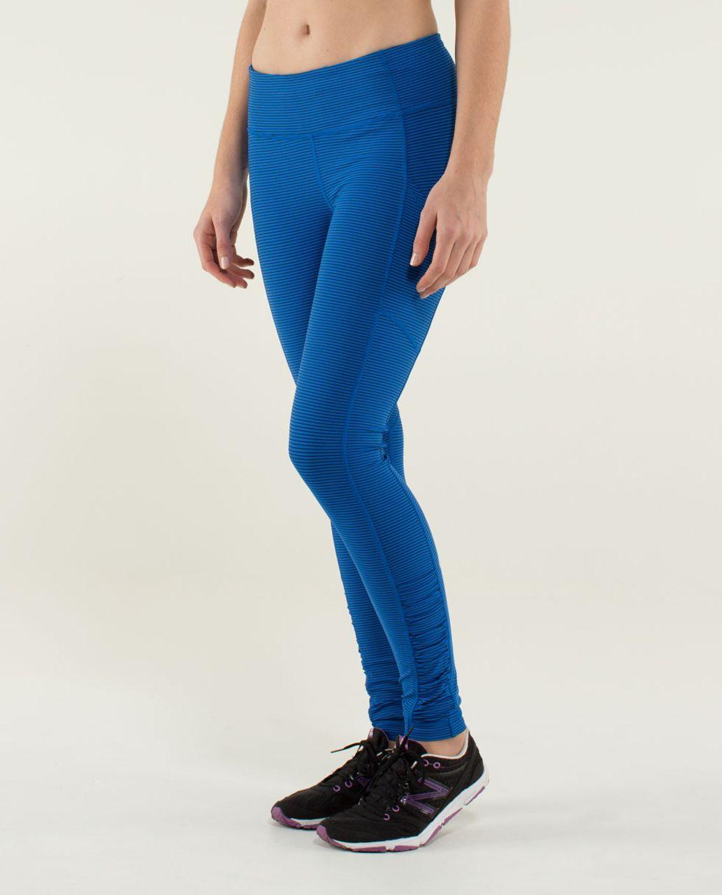 Lululemon Speed Tight *Luxtreme - Mini Hyper Stripe Baroque Blue