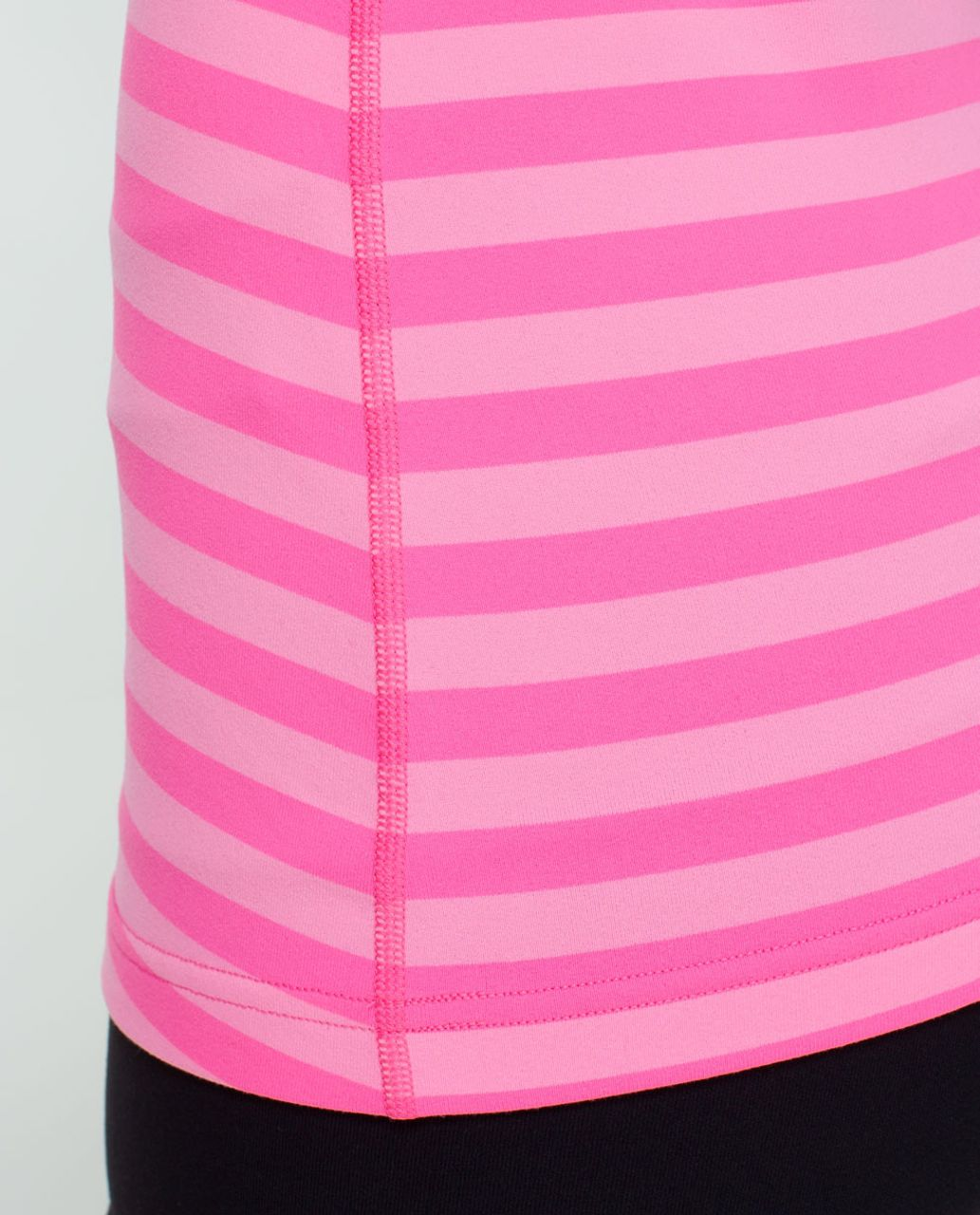 Lululemon Cool Racerback - Apex Stripe Zing Pink Light