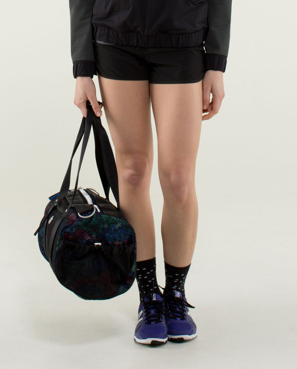 Lululemon Run On Duffel - Petal Pop Extra Multi / Black