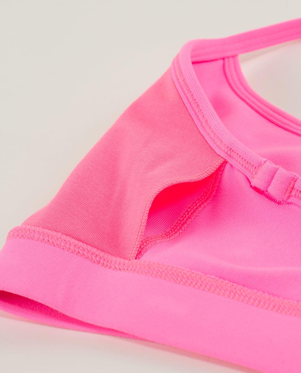 Lululemon Flow Y Bra IV - Zing Pink Light