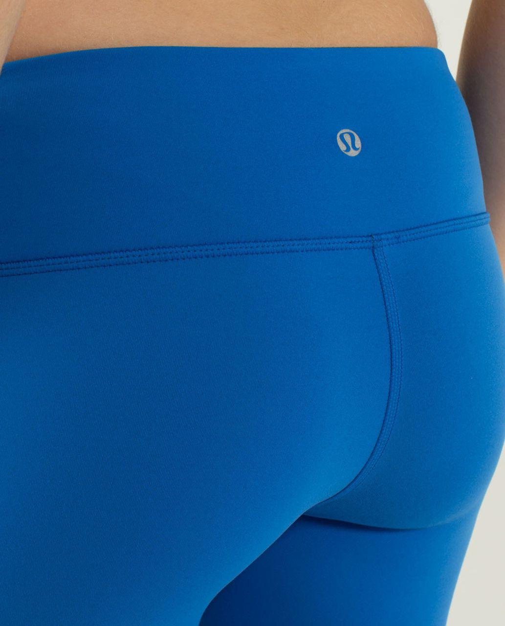 Lululemon Wunder Under Pant *Reversible - Black / Baroque Blue