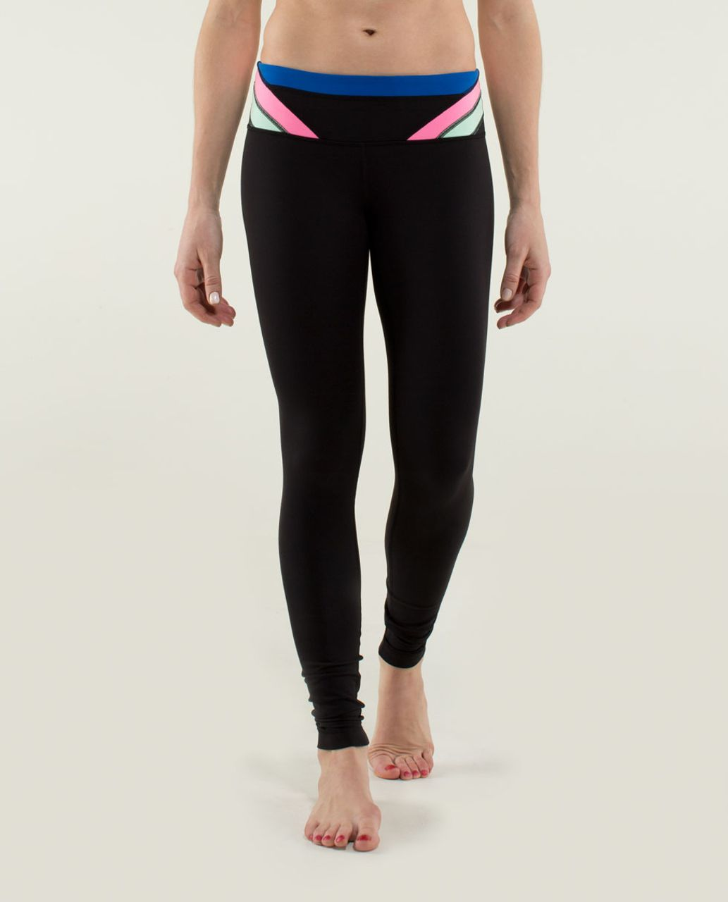 Lululemon Wunder Under Pant *Full-On Luon - Black / Quilt Winter 13-16