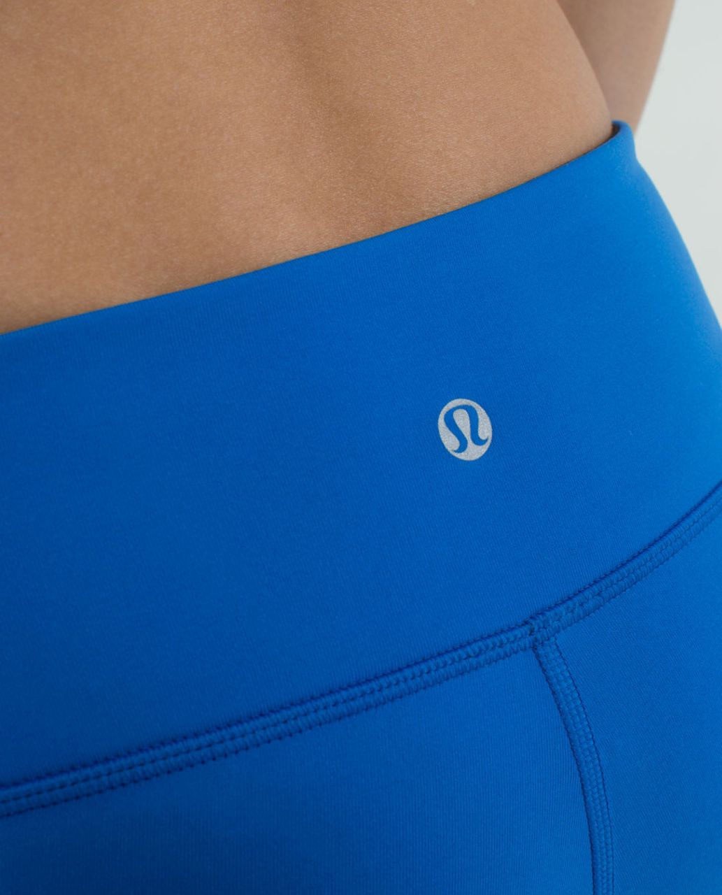 Lululemon Wunder Under Crop *Reversible - Black / Baroque Blue