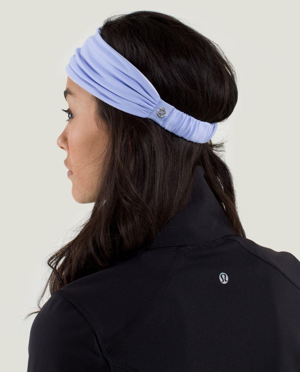Lululemon Bang Buster Headband *Reversible - Lavender Dusk / White