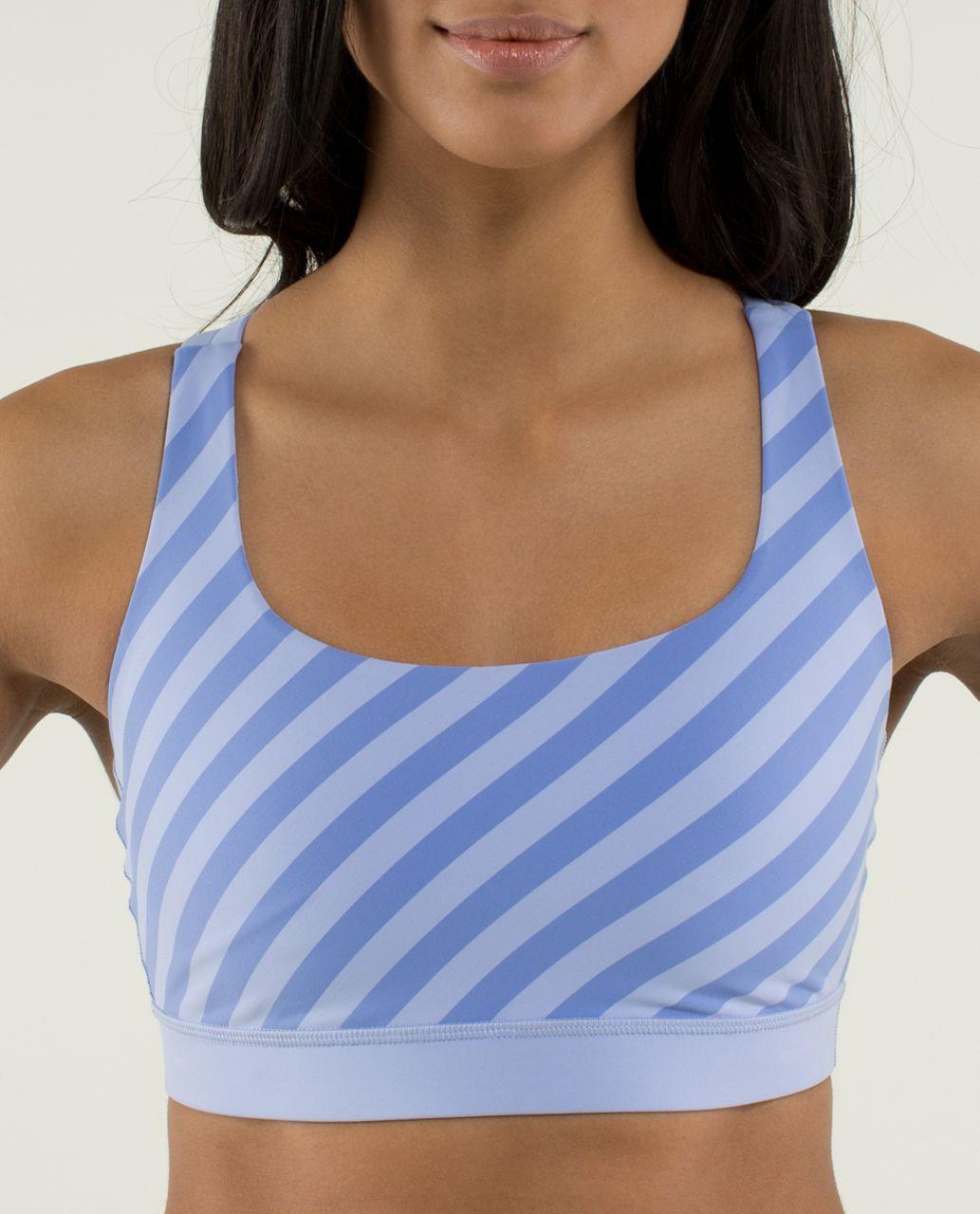 Lululemon Energy Bra - Apex Stripe Lavender Dusk / Lavender Dusk