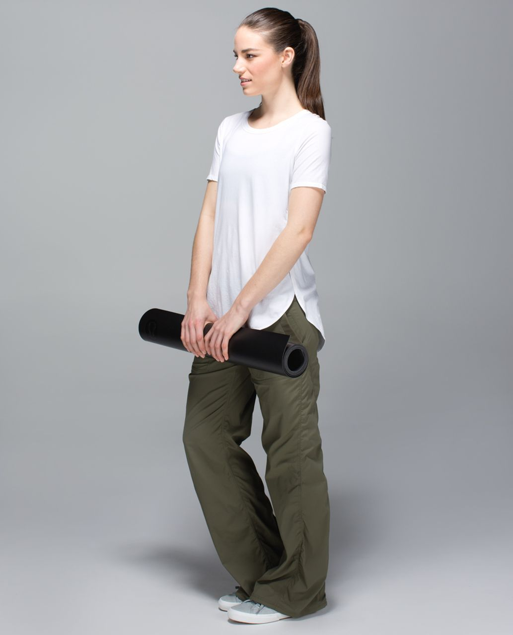Lululemon Studio Pant II *No Liner (Regular) - Fatigue Green