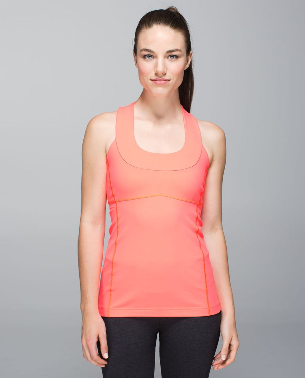 Lululemon Scoop Neck Tank *Luon - Very Light Flare