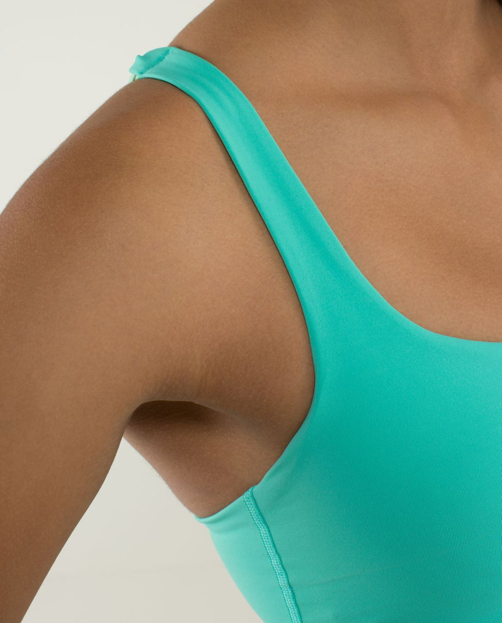Lululemon Free To Be Bra - Bali Breeze / Fresh Teal