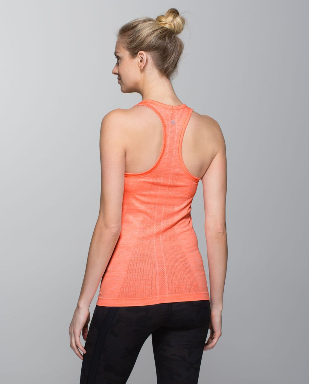 Lululemon Run:  Swiftly Tech Racerback - Heathered Very Light Flare