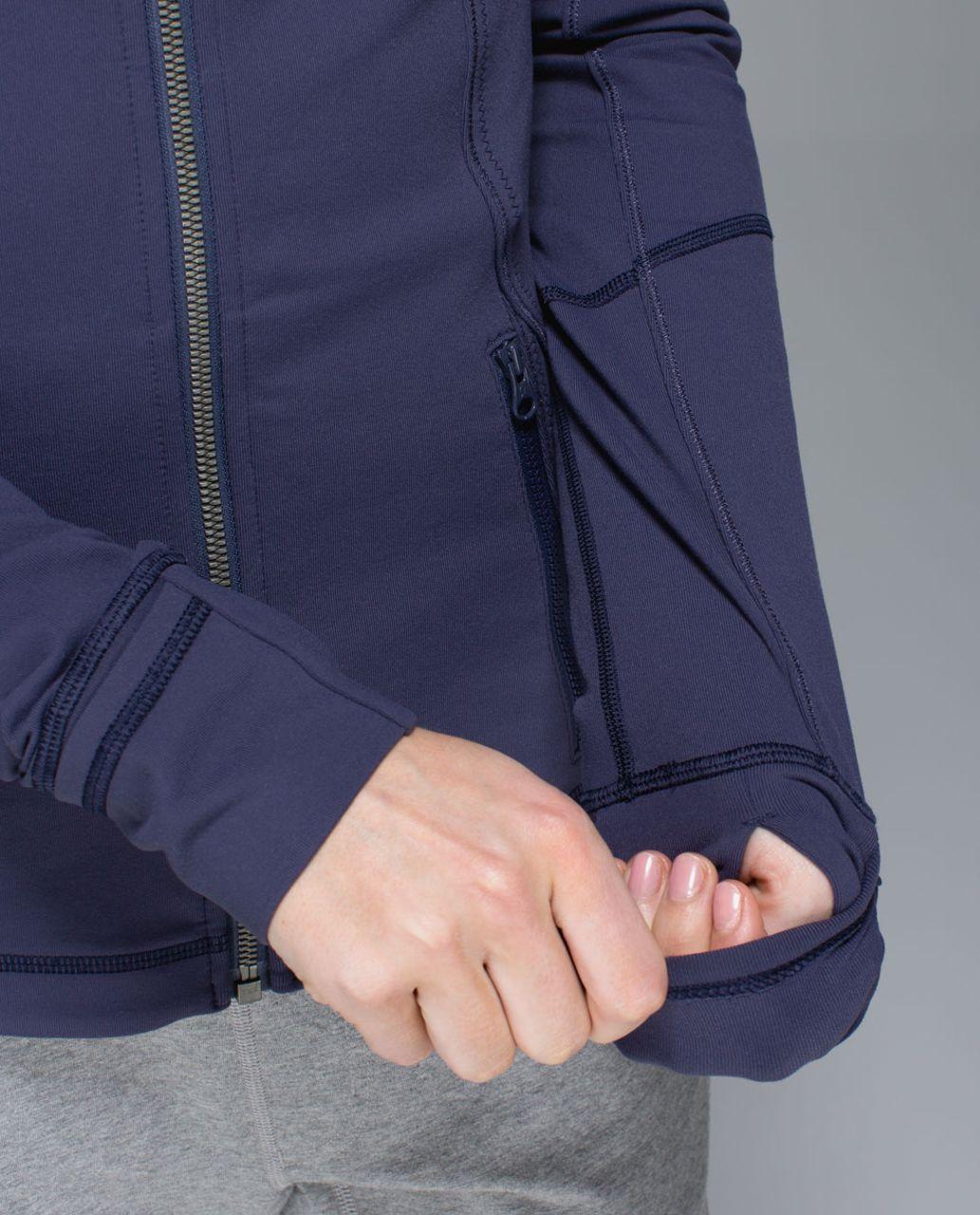 Lululemon Forme Jacket *Cuffins - Cadet Blue