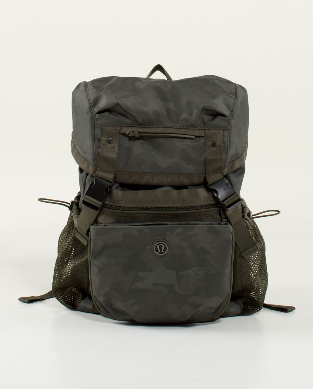 Lululemon Travelling Yogini Rucksack - Savasana Camo 20cm Fatigue Green