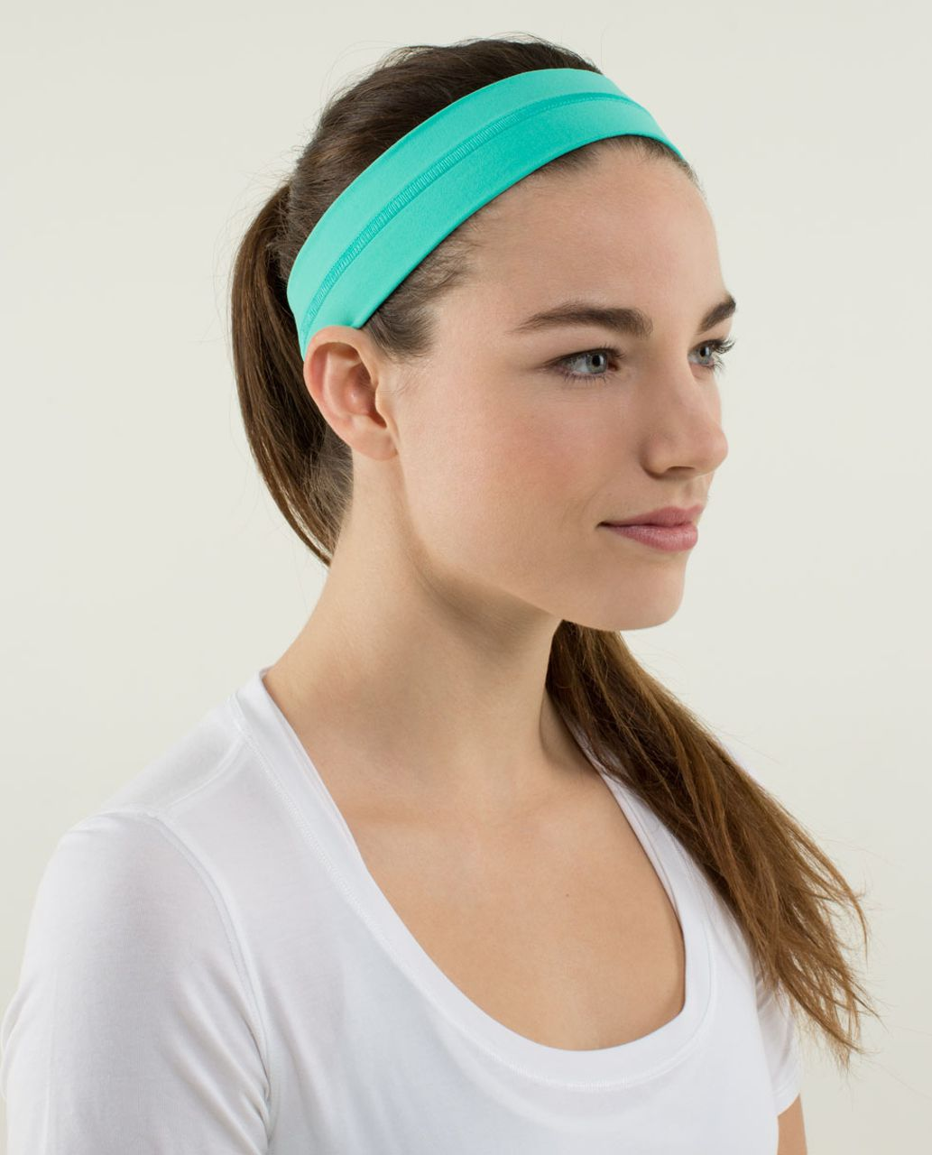 Lululemon Fly Away Tamer Headband - Bali Breeze