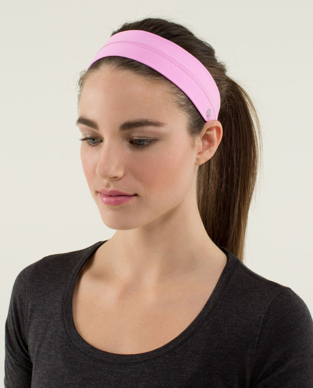 Lululemon Fly Away Tamer Headband - Vintage Pink