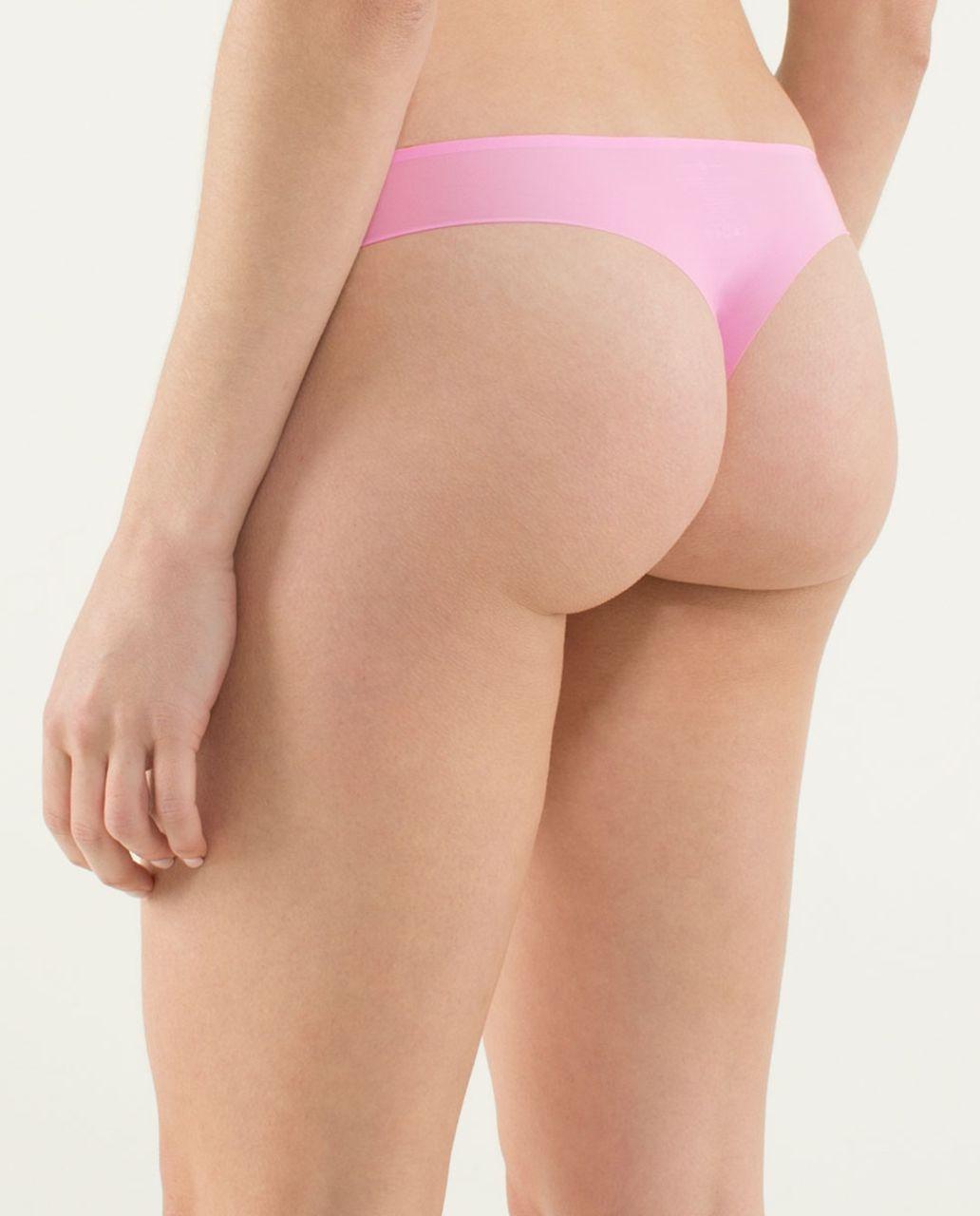 Lululemon Light As Air Thong - Vintage Pink