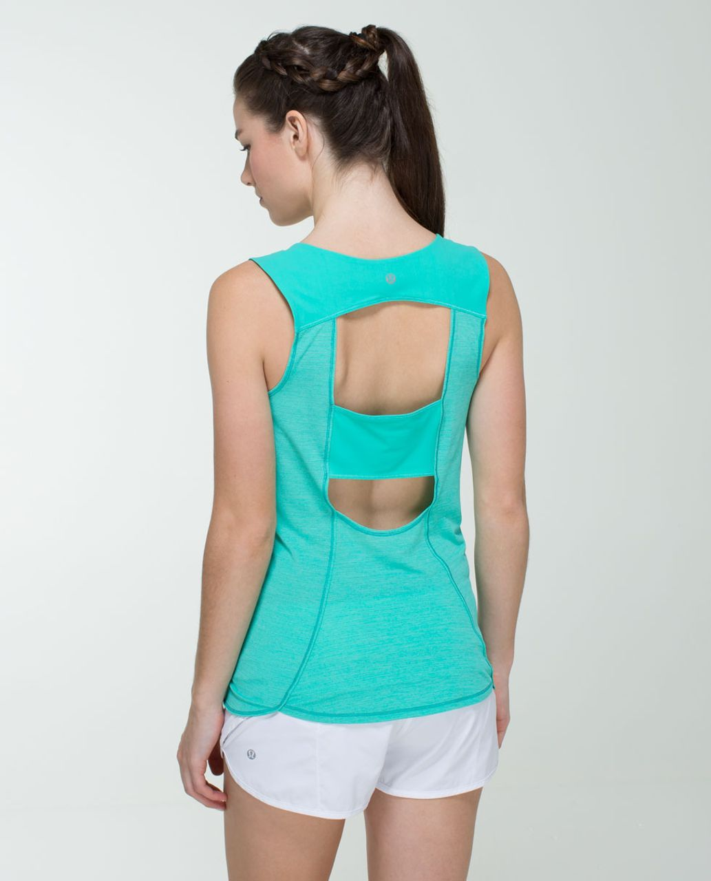 026d7826a625c0 Lululemon Run Righteous Tank - Heathered Bali Breeze   Bali Breeze - lulu  fanatics