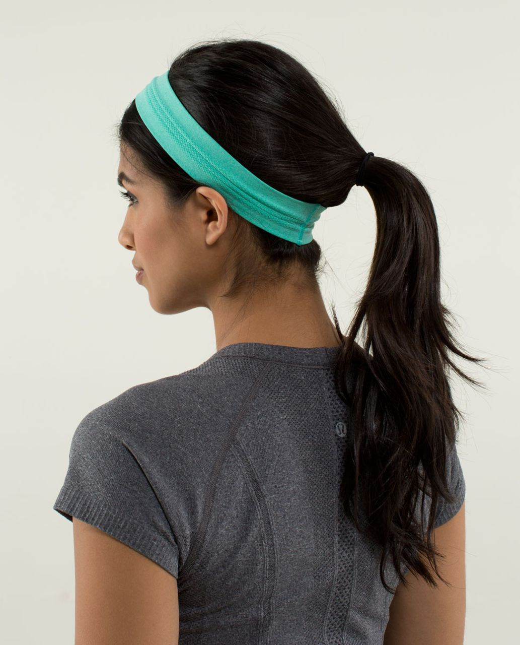Lululemon Swiftly Headband - Heathered Bali Breeze