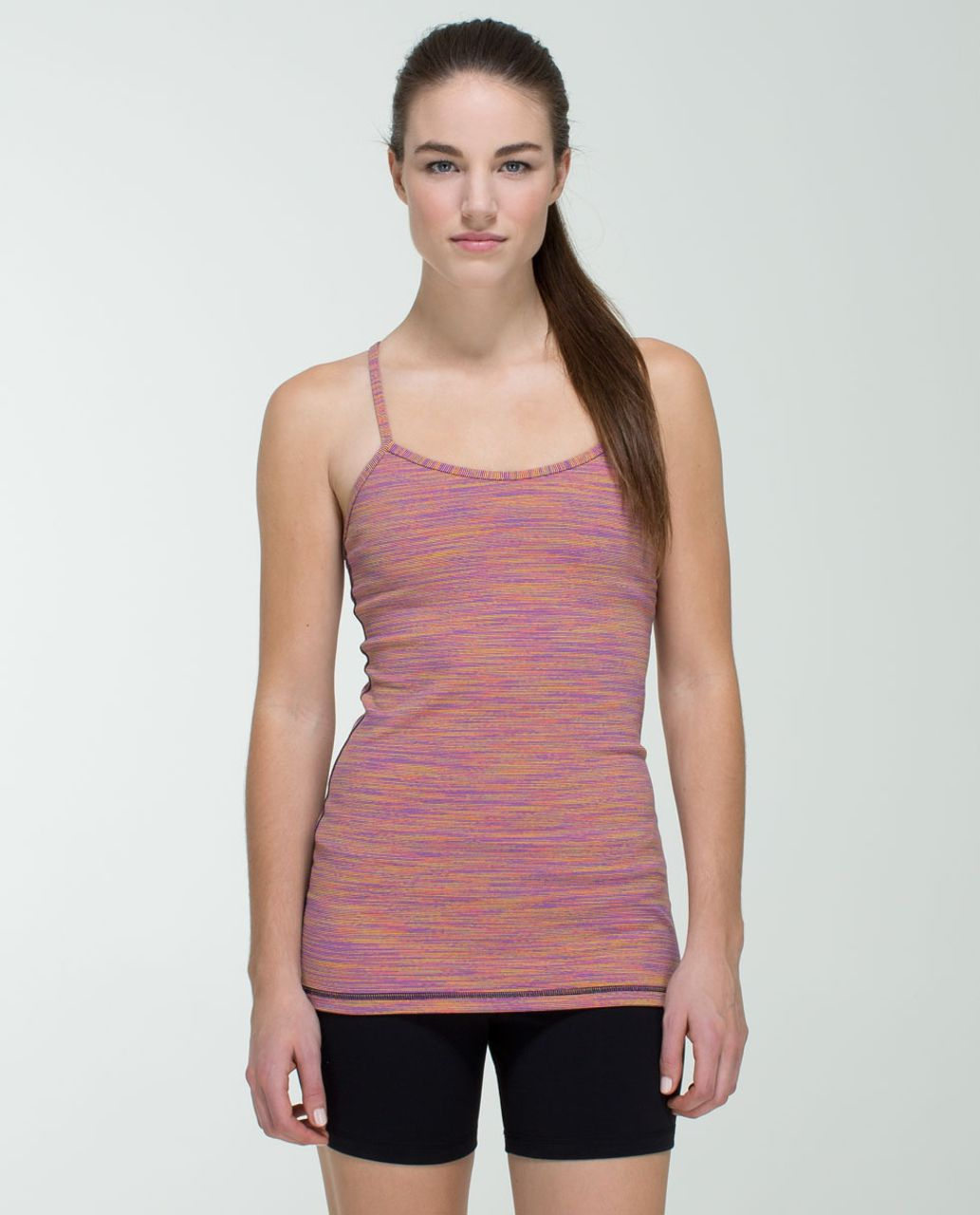 Lululemon Power Y Tank *Luon - Wee Are From Space Vintage Pink