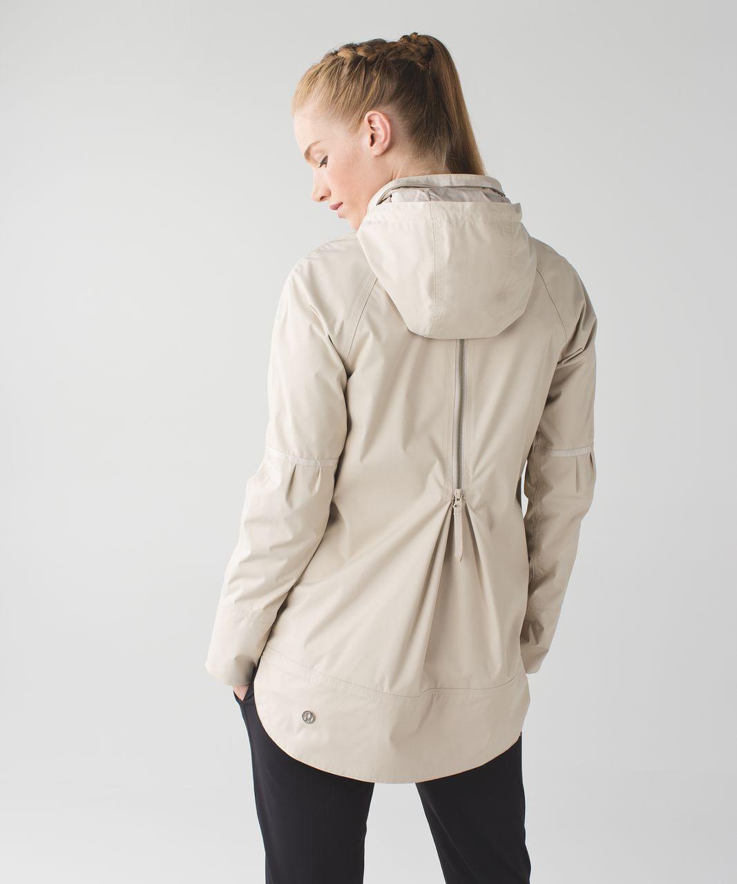 Lululemon Fo Drizzle Jacket Cashew Lulu Fanatics