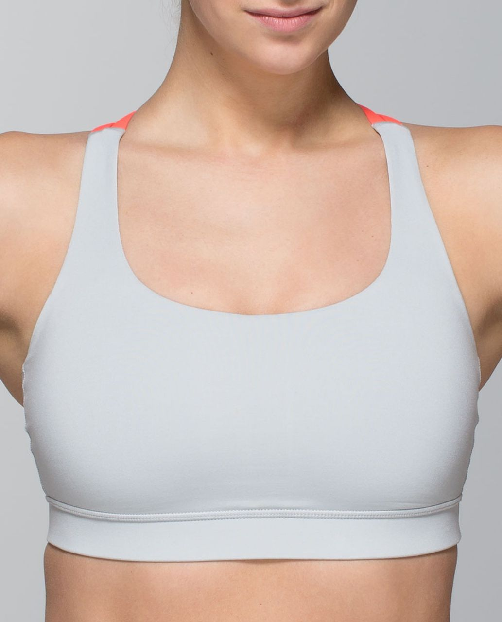Lululemon Energy Bra - Silver Spoon / Very Light Flare