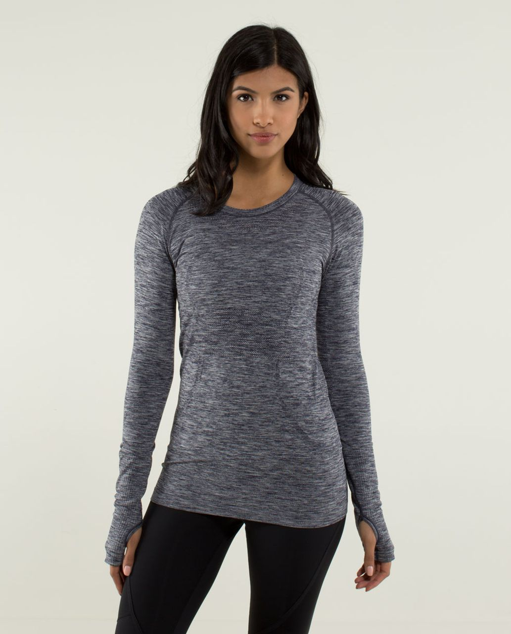 5be39a10a81c7 Lululemon Run  Swiftly Tech Long Sleeve - Heathered Cadet Blue - lulu  fanatics