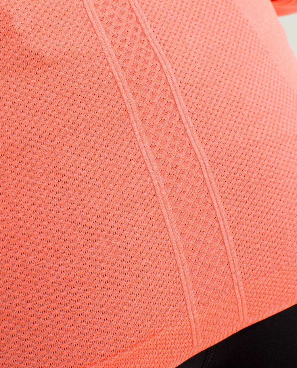 Lululemon Run:  Swiftly Tech Long Sleeve - Heathered Very Light Flare