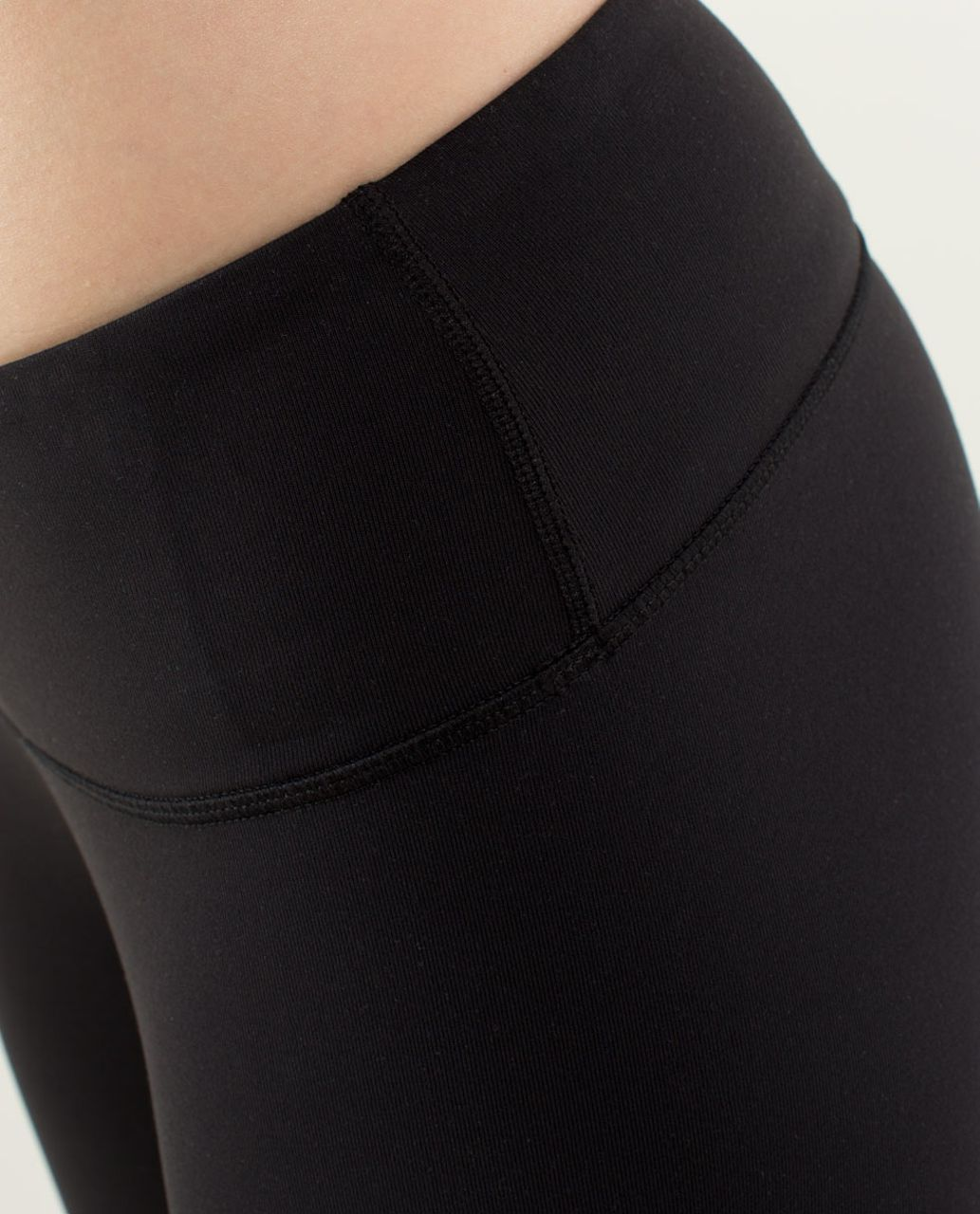 Lululemon Wunder Under Pant (Print) *Full-On Luon - Black /  Black
