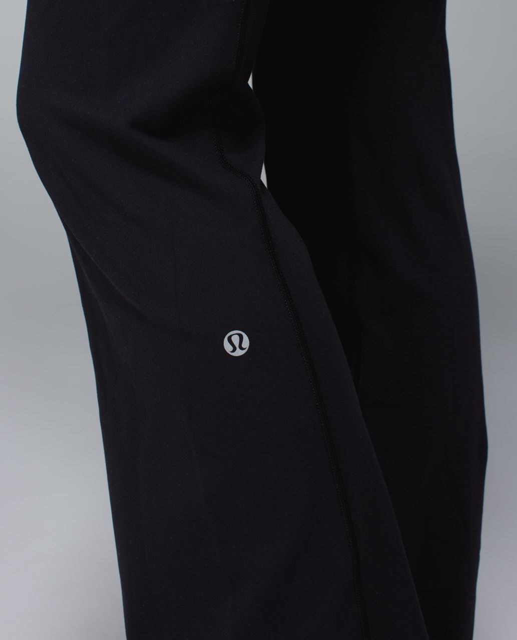 Lululemon Groove Pant (Regular) *Full-On Luon - Black / Quilt Spring 14-07