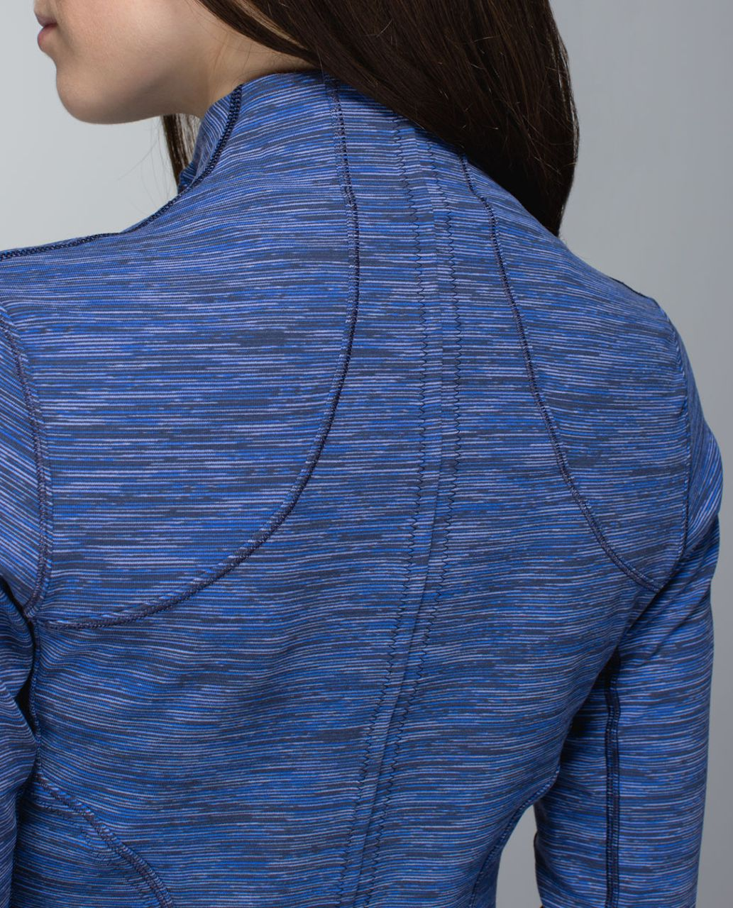 Lululemon Forme Jacket *Cuffins - Wee Are From Space Cadet Blue