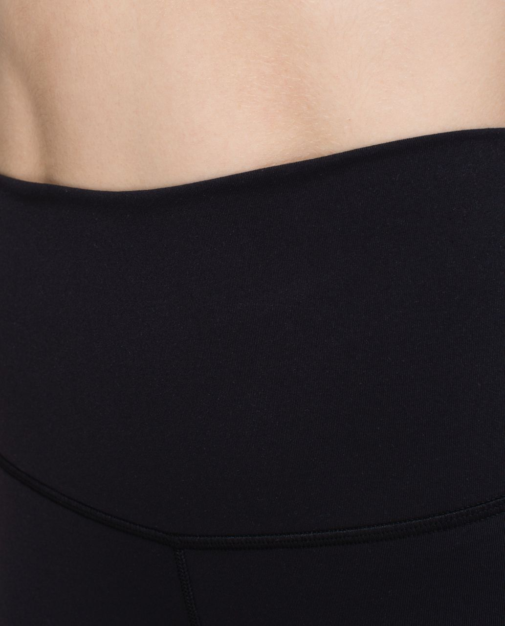Lululemon Wunder Under Crop (Roll Down) *Full-On Luon - Black