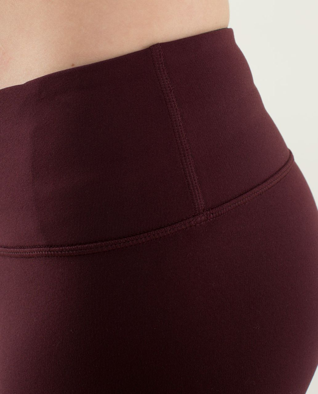 Lululemon Wunder Under Pant *Reversible - Bordeaux Drama / Black