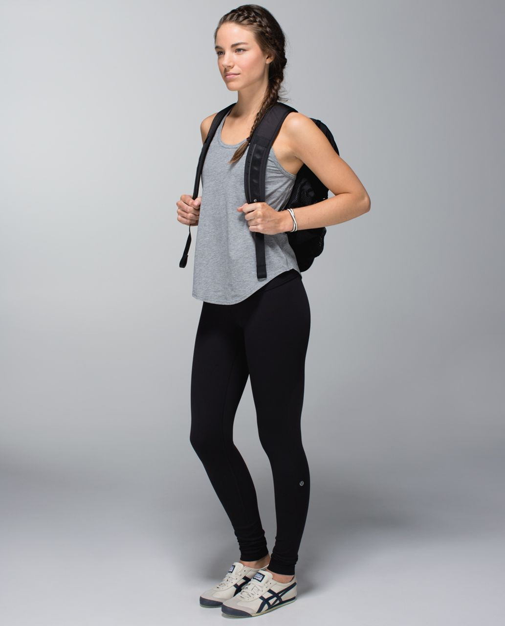 Lululemon Wunder Under Pant *Full-On Luon - Black / Quilt Spring 14-06