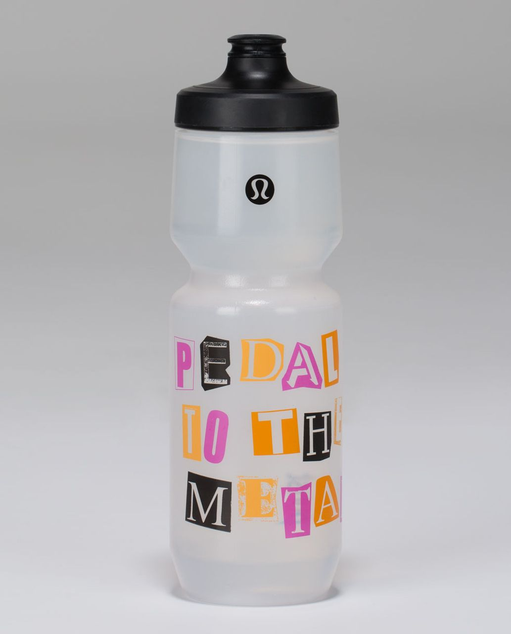 Lululemon Purist Cycling Water Bottle II - Petal To The Metal Pow Pink Light