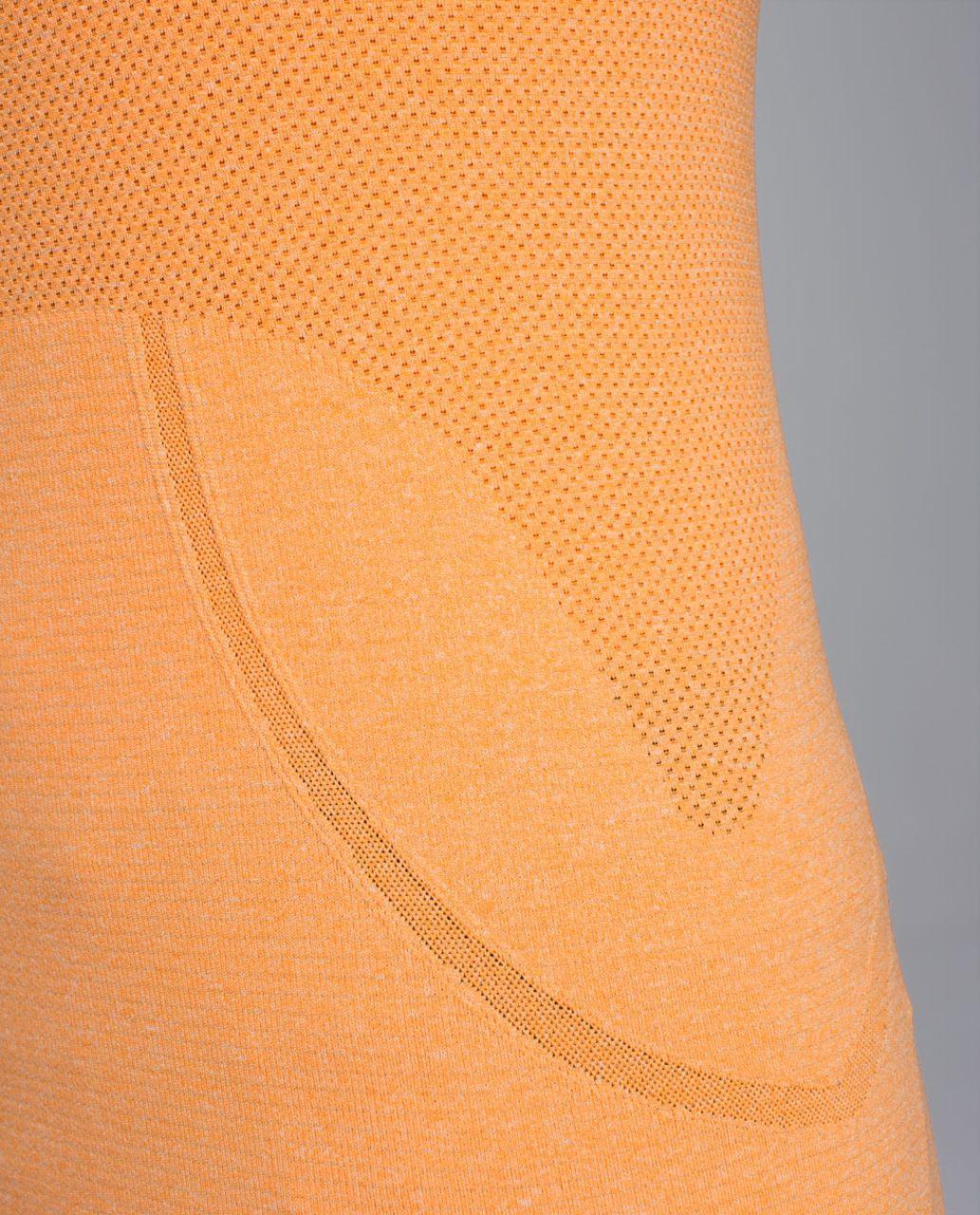 Lululemon Run:  Swiftly Tech Long Sleeve - Heathered Creamsicle Pop